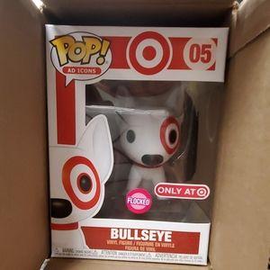 Brand new Funko Pop! Target Bullseye Flocked